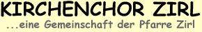 Kirchenchor Zirl