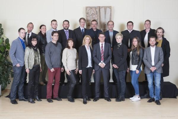 Gemeinderat der Marktgemeinde Zirl im Jahr 2016