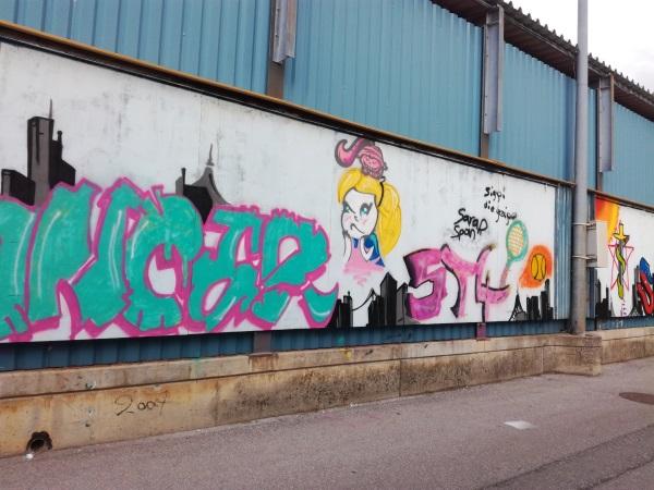 Bild des Graffiti